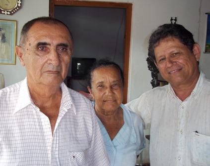 Antonio Bernal, Susana Pantoja y Édgar Cortés en casa de Susana el día 22 de agosto de 2011.