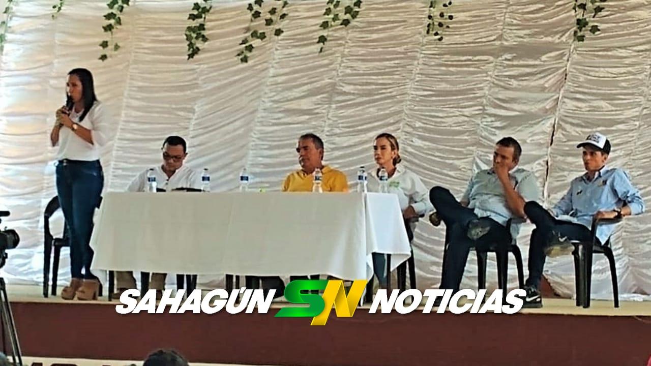 Debate con los candidatos a a alcaldía de Sahagún