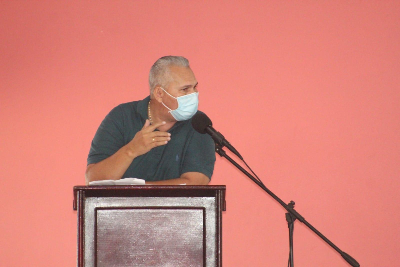 Rodolfo Sierra, Concejal del municipio de Sahagún