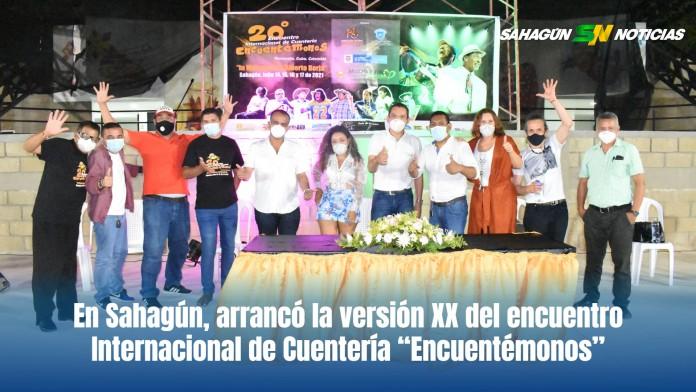 """En Sahagún, arrancó la versión XX del encuentro Internacional de Cuentería """"Encuentémonos"""" - Noticias de Colombia"""